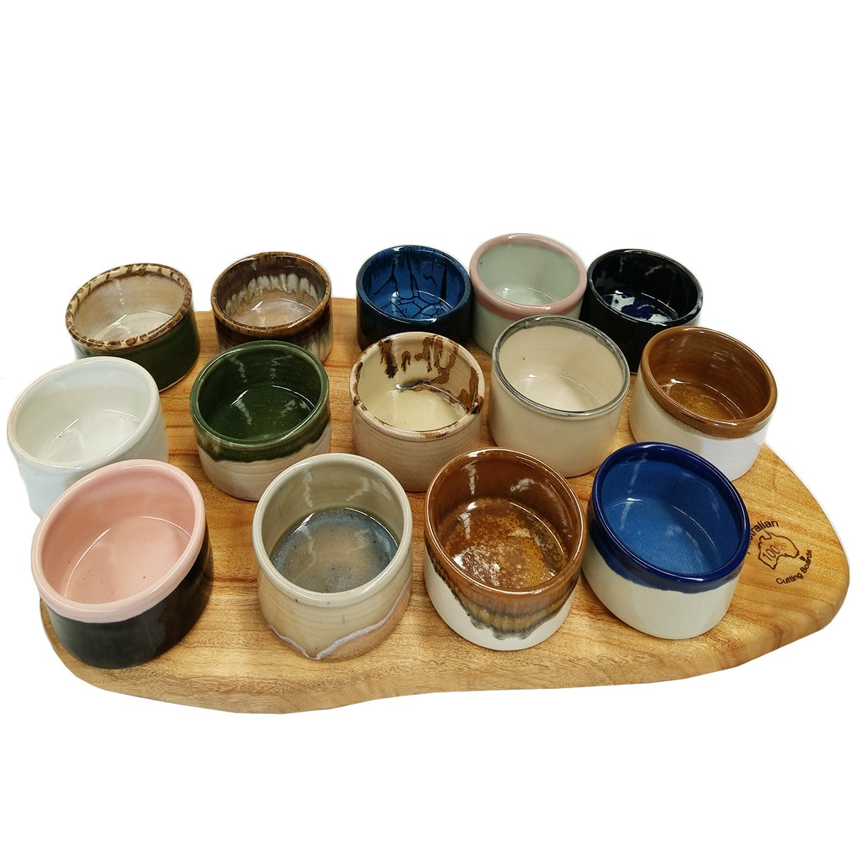 Handmade bowl selection