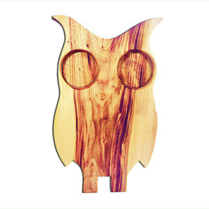 Owl Shaped Antipasto Platter is made from our kiln dried camphor laurel timber
