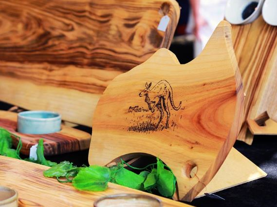 Australian Cutting Boards is at the Eumundi Markets