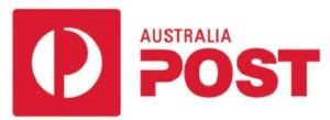 Australia Post for delivery