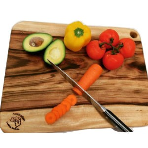 LARGE CAMPHOR LAUREL CUTTING BOARD